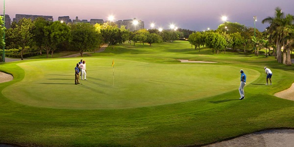 DLF-The-Camellias,-golf-course-Gurgaon
